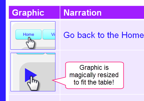 Graphics automatically re-size when you use a Snagit Profile to finish a capture.