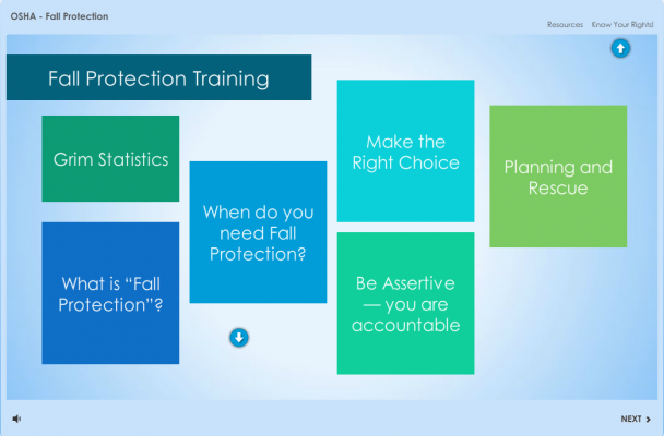 A prototype for Articulate's eLearning Challenge #85.