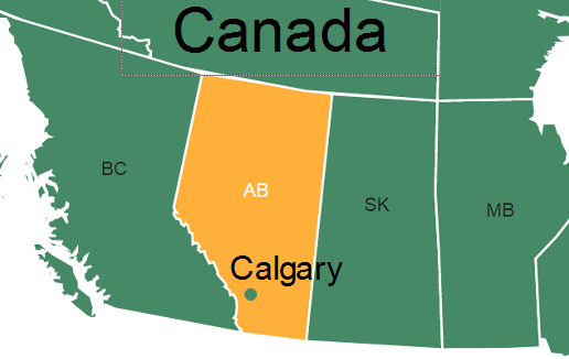 Calgary On Map Of Canada.Interactive Maps 86 Larch Learning Solutions